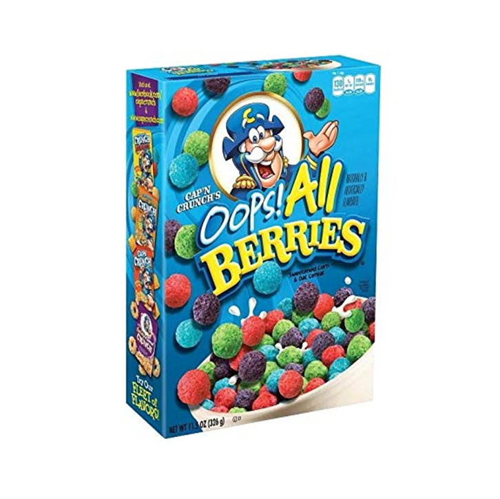 Cap'n Crunch oops all berries