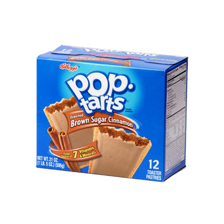 Pop Tarts Frosted brown sugar cinnamon (12 unidades)