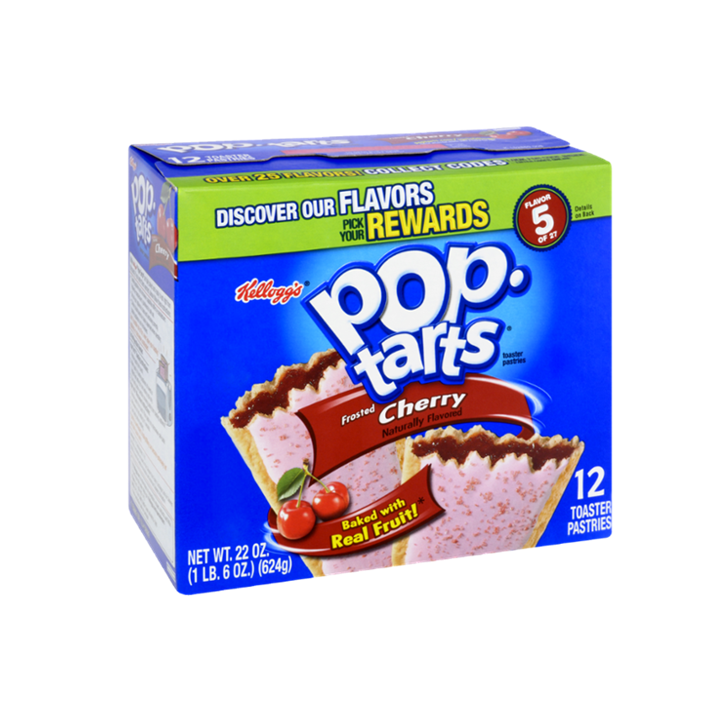Pop Tarts Frosted Cherry (12 unidades)