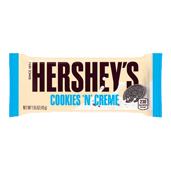 Herseys Cookies and Creme