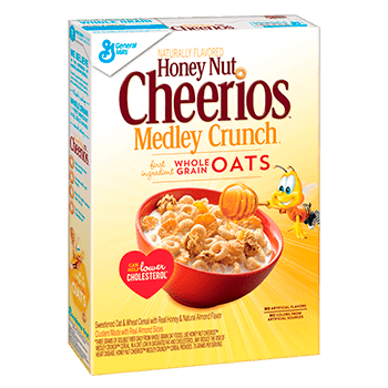 Cheerios meedley crunch