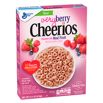 Cheerios very berry