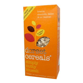 Dorset Cereal simply nutty cereal