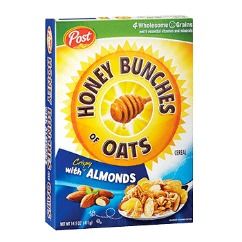 Honey Bunches Oats with almonds