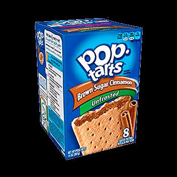 Pop Tarts Brown sugar cinnamon unfrosted (8 unidades)