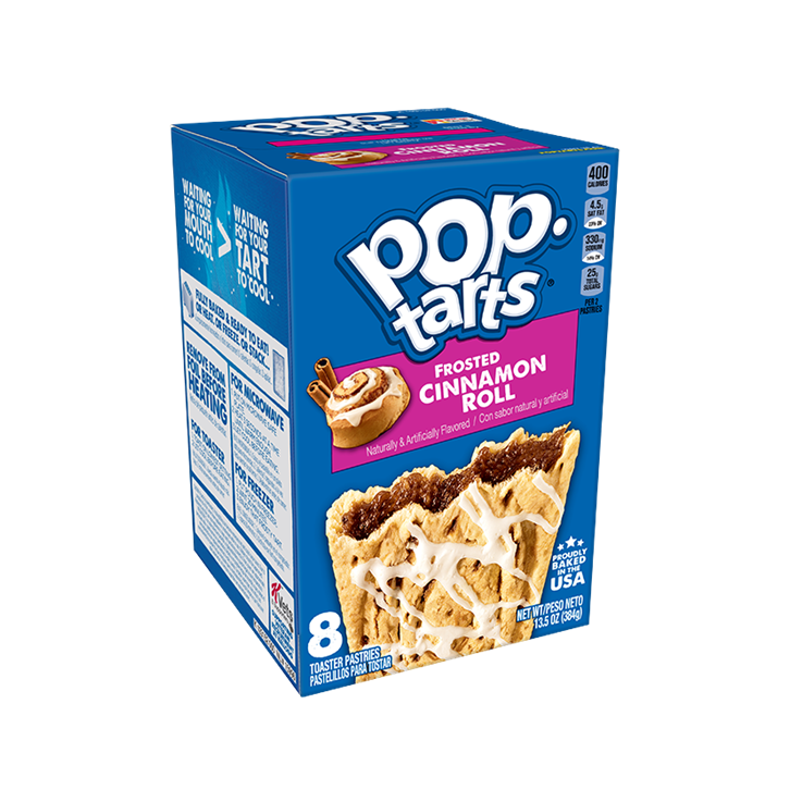 Pop Tart Frosted cinnamon roll (8uds)