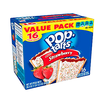 Pop Tarts Frosted Strawberry (16 unidades)