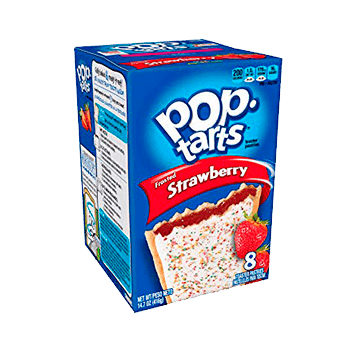 Pop Tarts Frosted Strawberry (8 unidades)