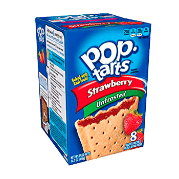 Pop Tarts Strawberry (8 unidades)