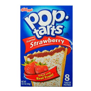 Pop Tart Frosted Strawberry (8 uds)