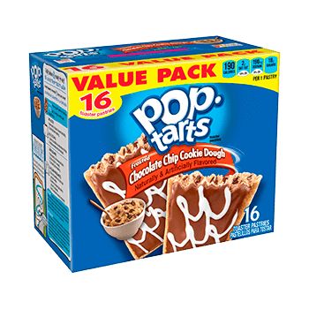 Pop Tarts Cookie dough (12 unidades)
