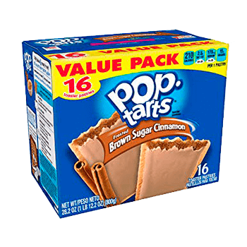 Pop Tarts Frosted brown sugar cinnamon (16 unidades)