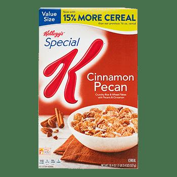 Special K Cinnamon Pecan