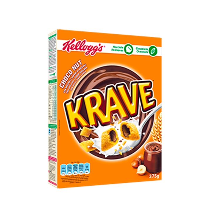 Krave chocolate and nuts