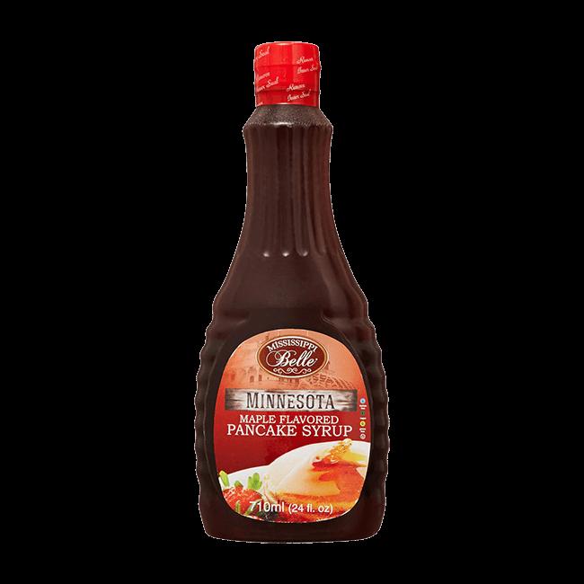 Mississippi Belle Minnesota Maple flavored pancake Syrup