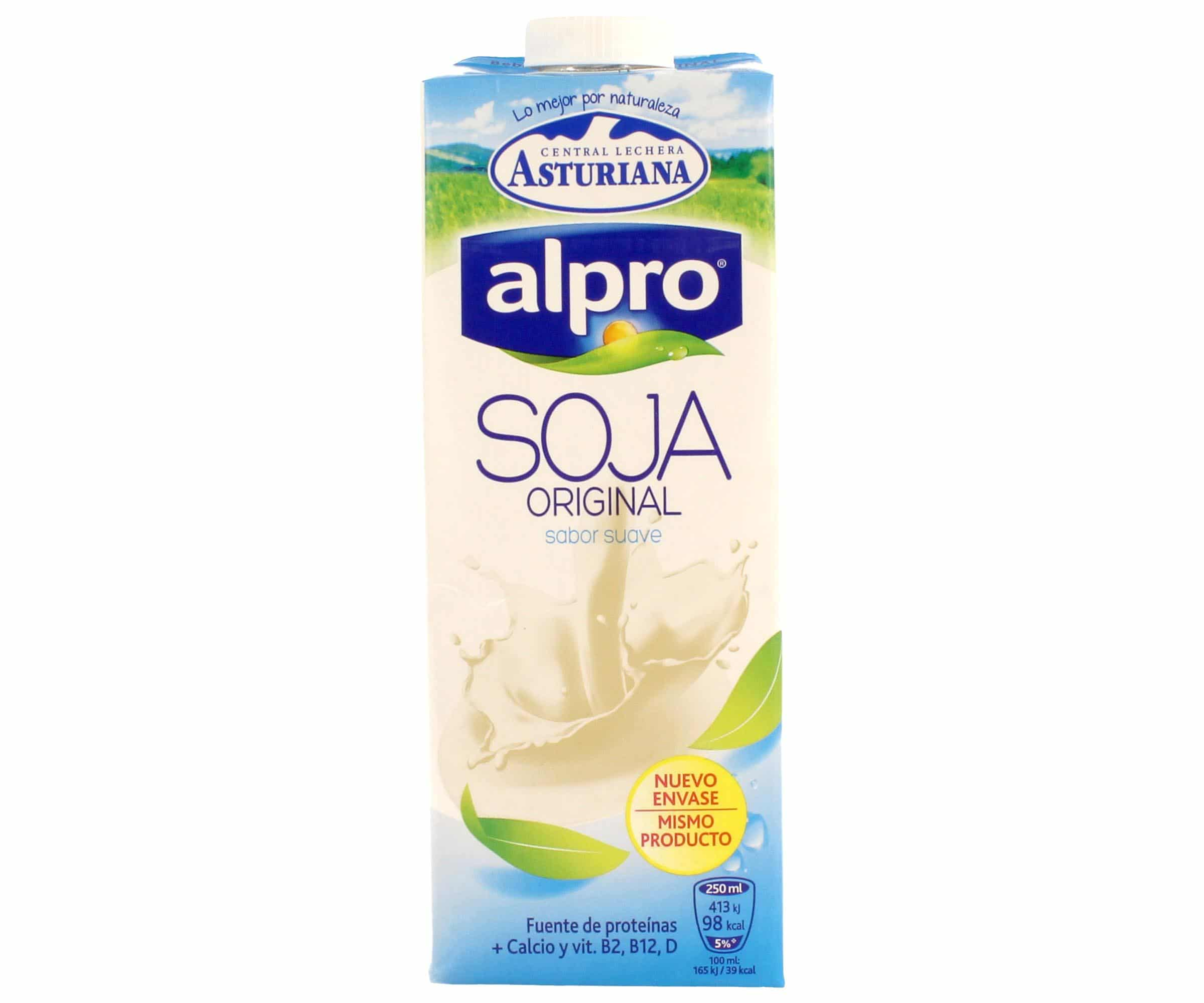 Bebida vegetal soja