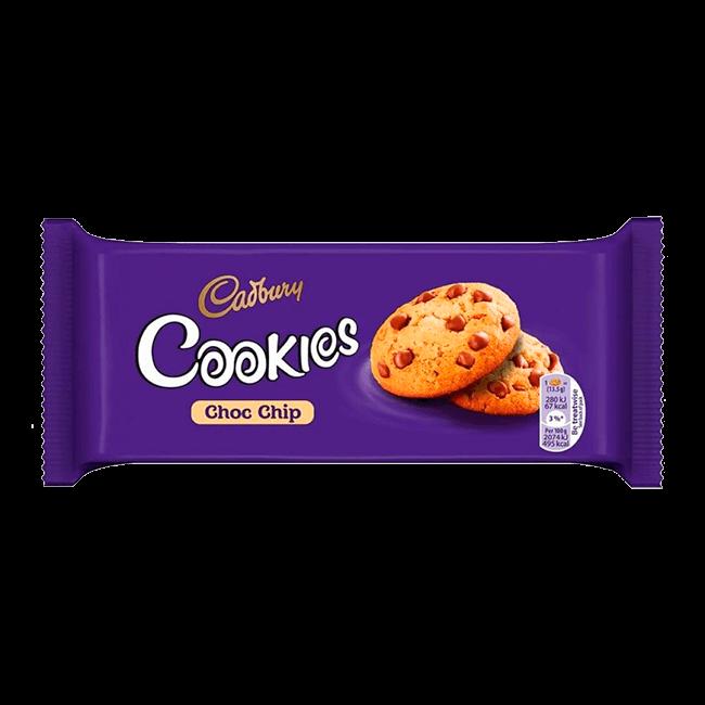 Cadbury cookies choc chips cookies