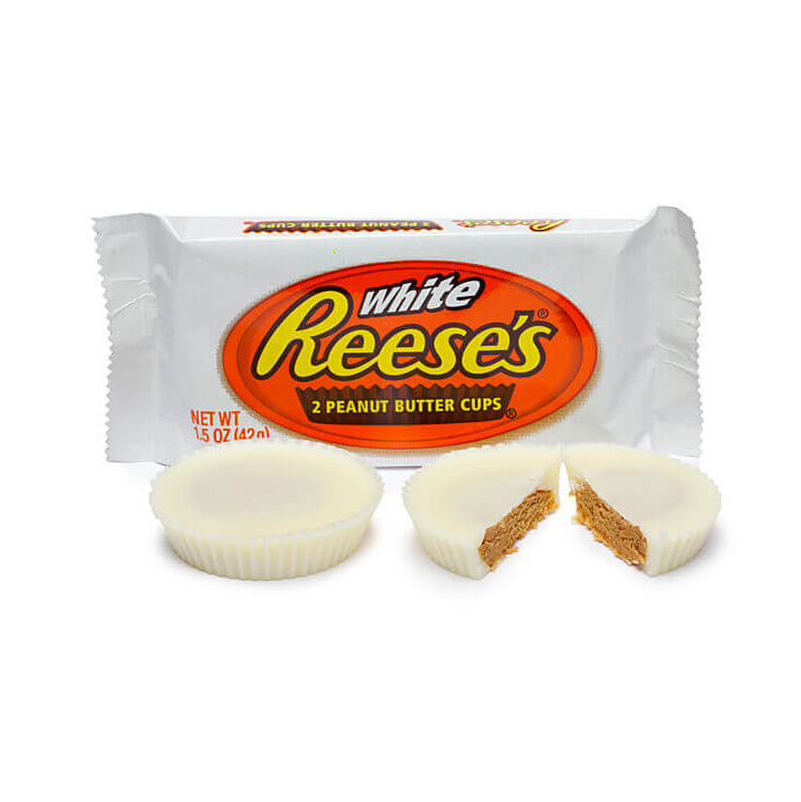 White Reese´s cups