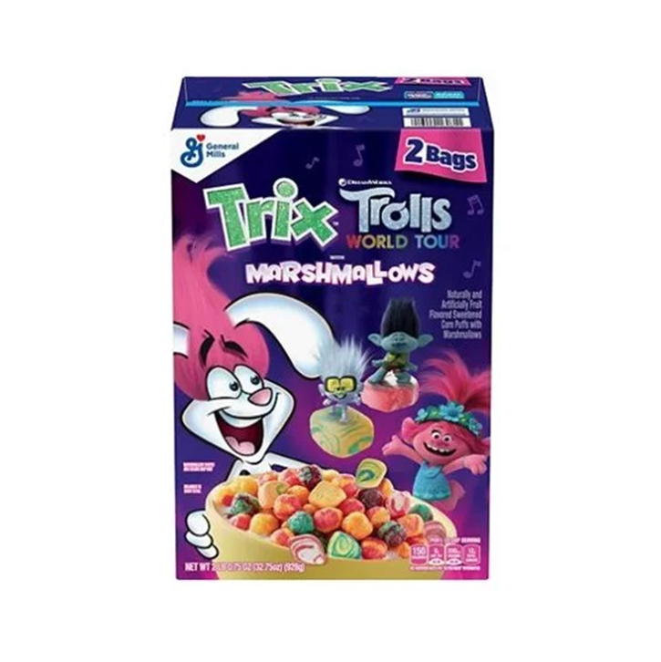 Trix Trolls with marshmallow