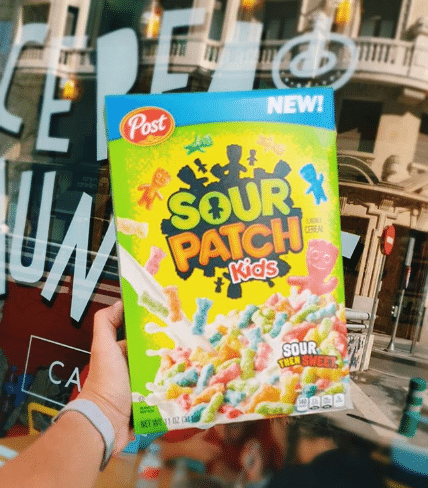 Sour Patch Kids cereal.